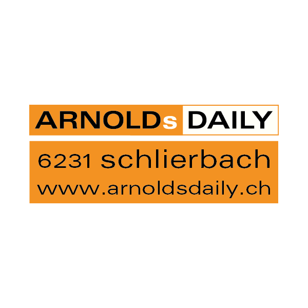 Arnolds Daily Logo für Kundenreferenz von Bacher PrePress