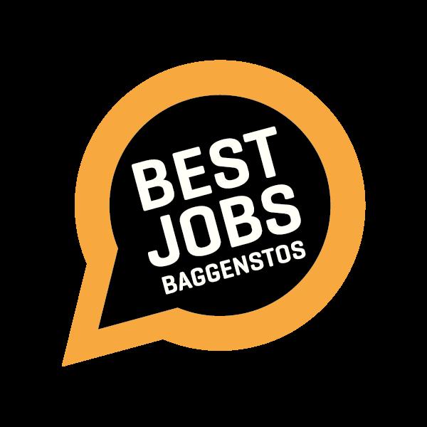 Best Jobs Baggenstos Logo für Kundenreferenz von Bacher PrePress