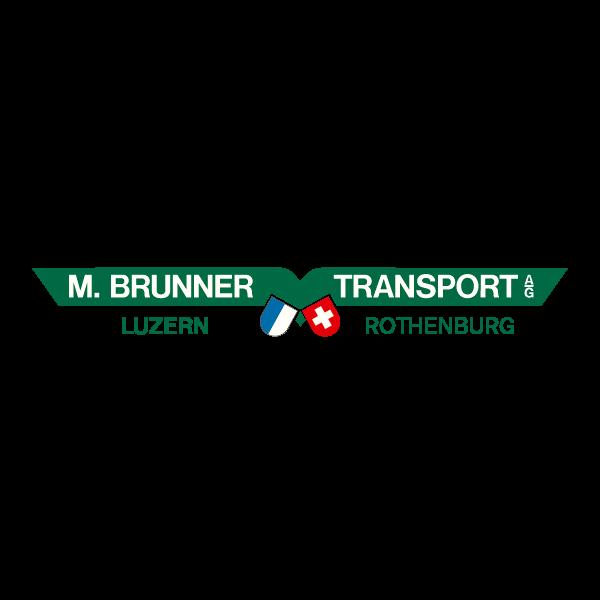 Brunner Transport Logo für Kundenreferenz von Bacher PrePress