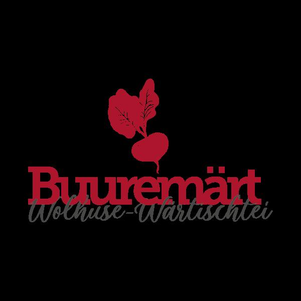Buuremärt Wolhuse-Wärtischtei Logo für Kundenreferenz von Bacher PrePress