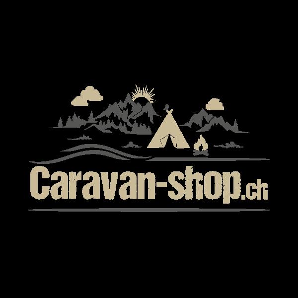 Caravan-Shop Logo für Kundenreferenz von Bacher PrePress