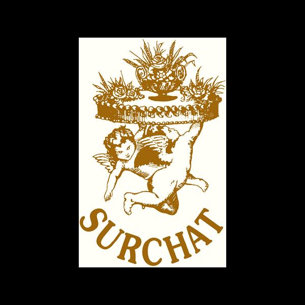Surchat Logo für Kundenreferenz von Bacher PrePress
