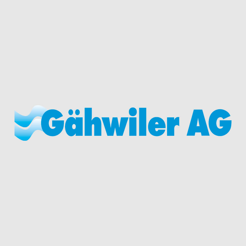 Logo Gähwiler AG als Kundenreferenz von Bacher PrePress
