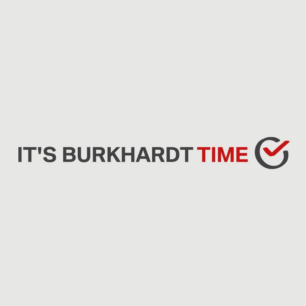 Logo BMW Garage Burkhardt als Kundenreferenz von Bacher PrePress