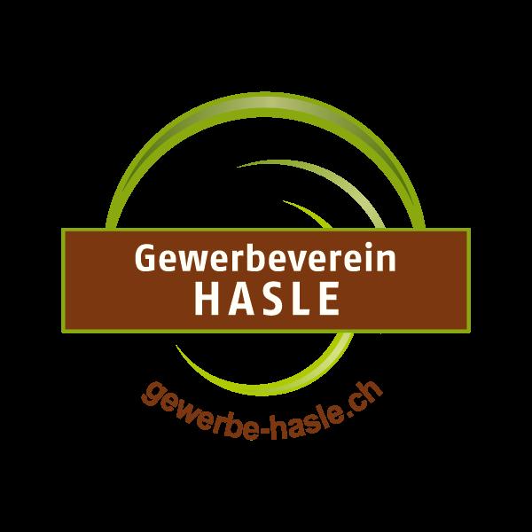 Gewerbeverein Hasle Logo für Kundenreferenz von Bacher PrePress