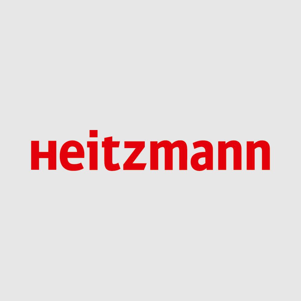 Logo Heitzmann als Kundenreferenz von Bacher PrePress