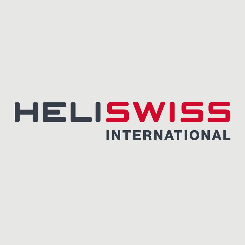 Logo Heliswiss International als Kundenreferenz von Bacher PrePress