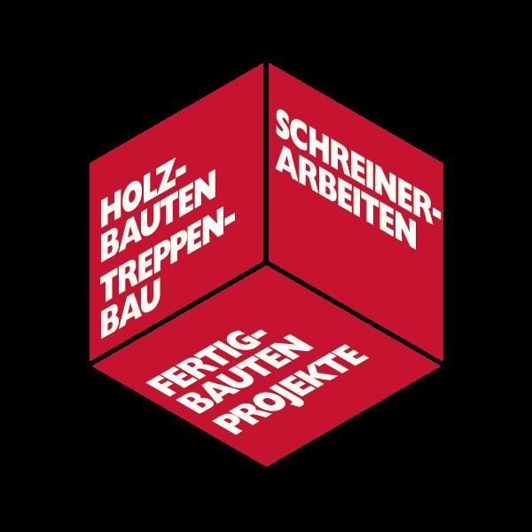 Holzbau Unternehmung Logo für Kundenreferenz von Bacher PrePress