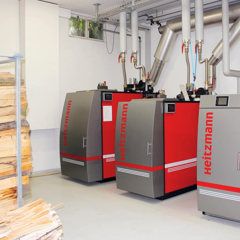 Heitzmann Holz-Energiezentrum für Fernwärme