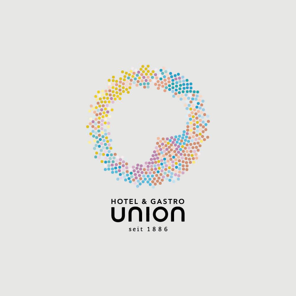 Logo - Hotel & Gastro Union - Kundenreferenz Bacher PrePress