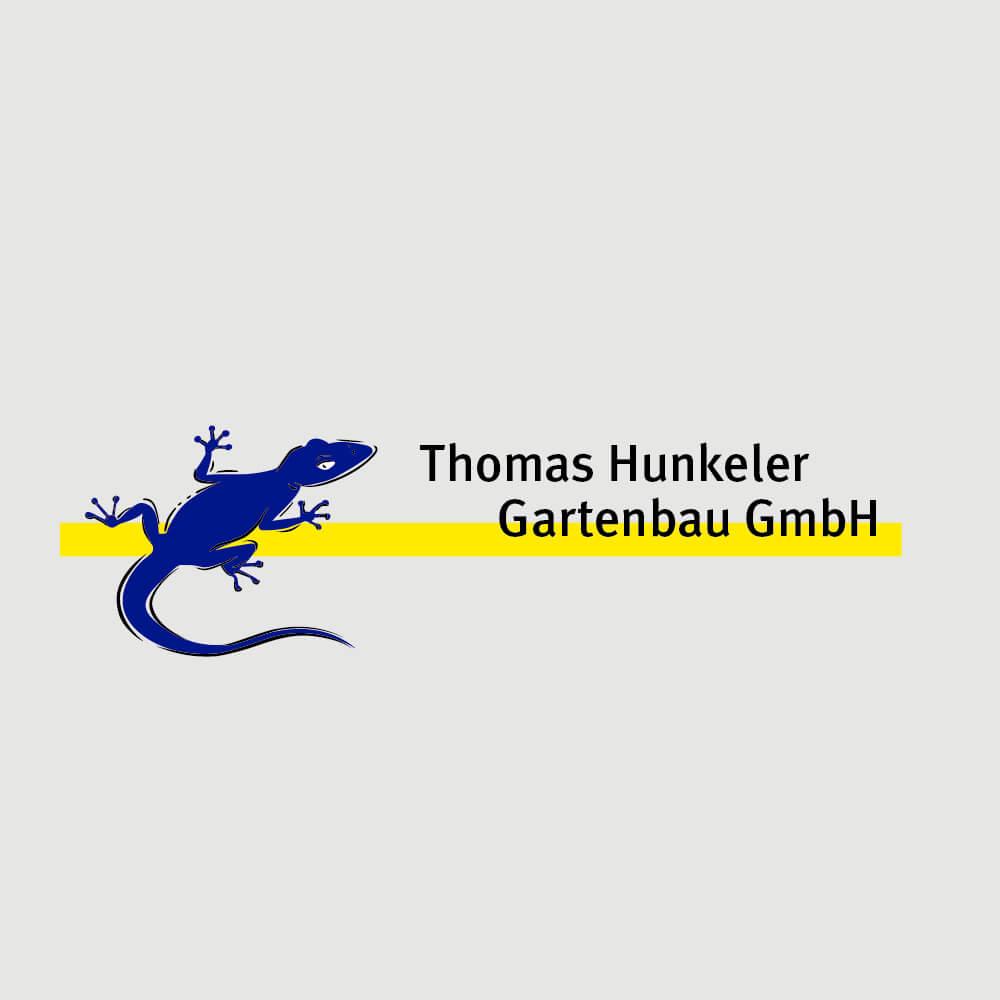 Logo Hunkeler Gartenbau als Kundenreferenz von Bacher PrePress