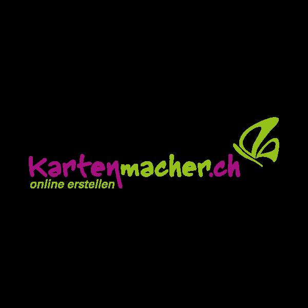 Kartenmacher Logo für Kundenreferenz von Bacher PrePress