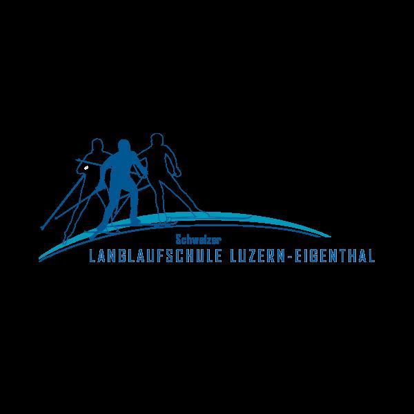Langlaufschule Luzern-Eigenthal Logo für Kundenreferenz von Bacher PrePress