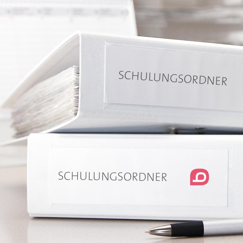 Schulungsordner - Druckerei Bacher PrePress