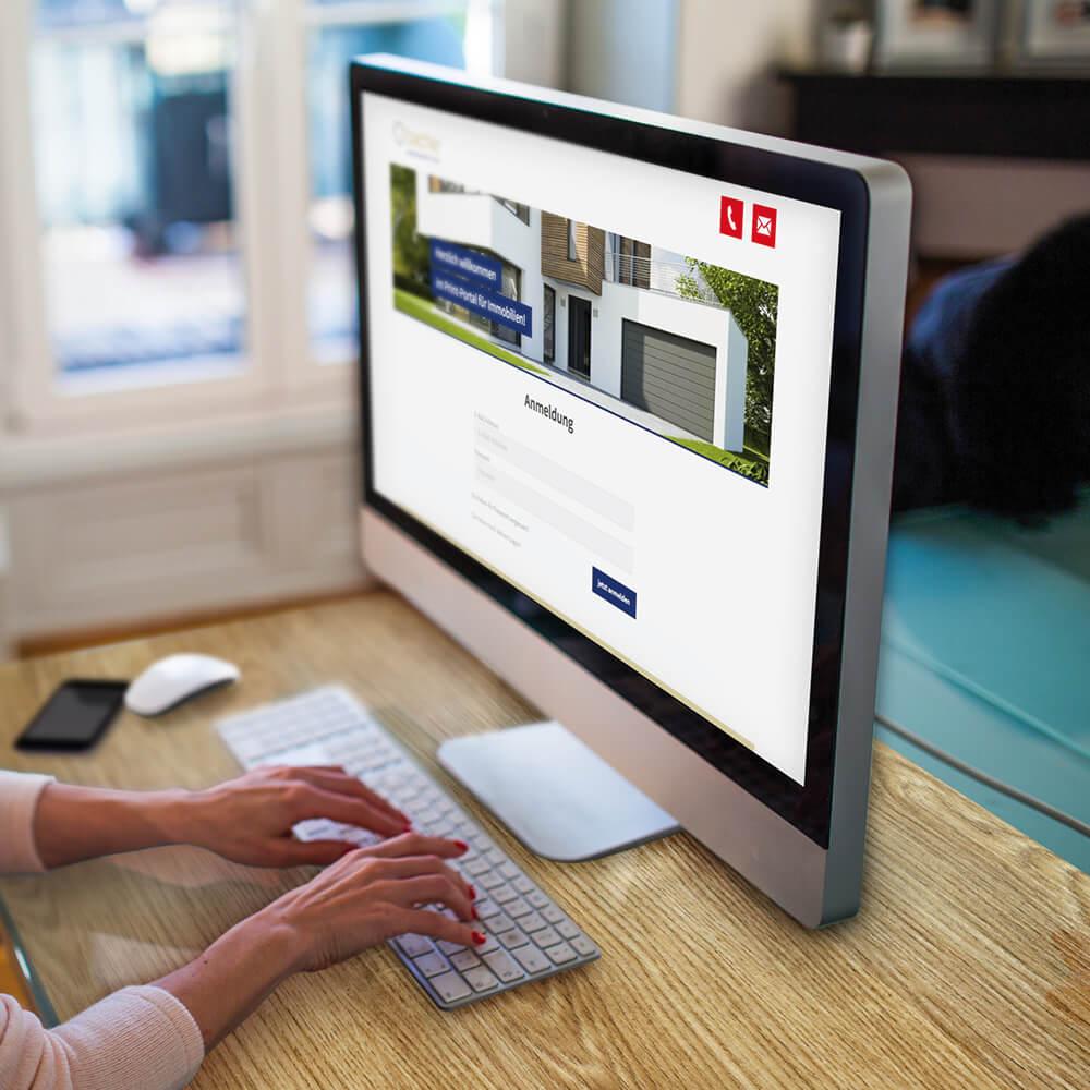 Web-to-print-Portal für das Filialnetz