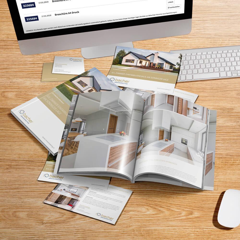 Web-to-print-Lösungen inkl. Druck