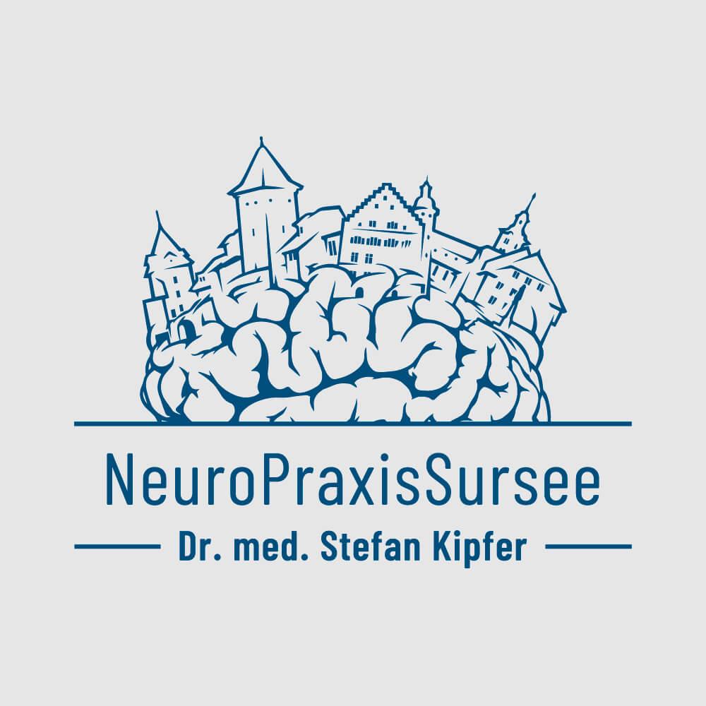 Logo Neuropraxis Sursee als Kundenreferenz von Bacher PrePress
