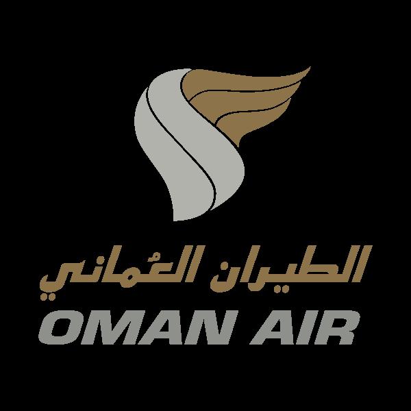 Oman Air Logo für Kundenreferenz von Bacher PrePress