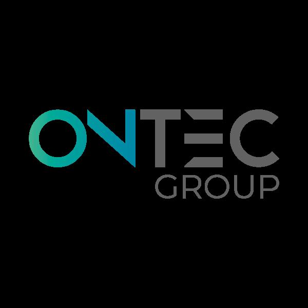 Ontec Group Malters Logo für Kundenreferenz von Bacher PrePress