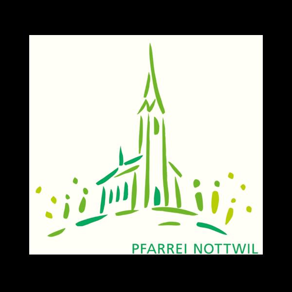 Pfarrei Nottwil Logo für Kundenreferenz von Bacher PrePress