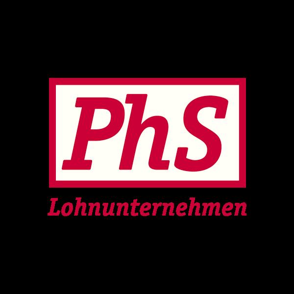 PhS Lohnunternehmen Logo für Kundenreferenz von Bacher PrePress