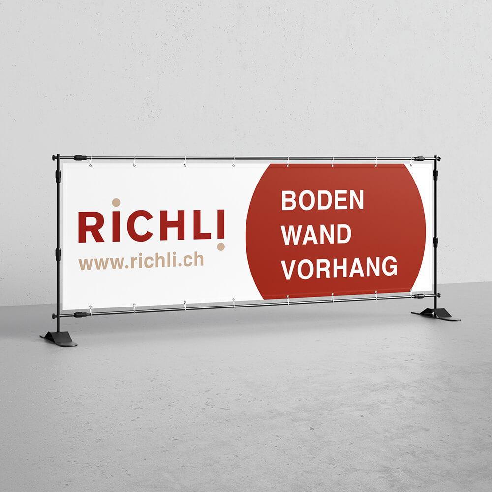 Blache Richli Parkett als Kundenreferenz von Bacher PrePress