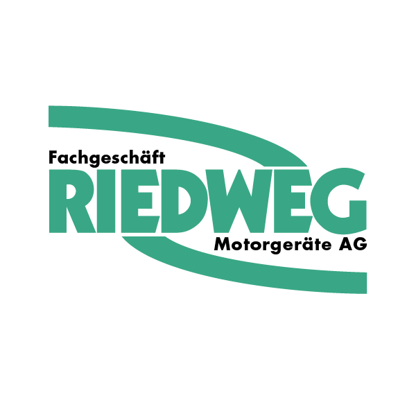 Riedweg Motorgeräte Logo für Kundenreferenz von Bacher PrePress