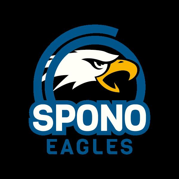 Spono Eagles Logo für Kundenreferenz von Bacher PrePress