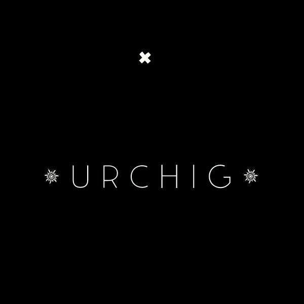 Urchig Logo für Kundenreferenz von Bacher PrePress