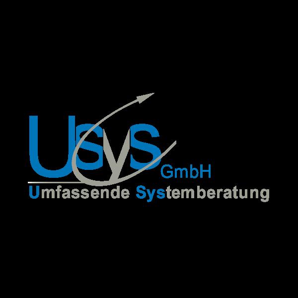 Usys Systemberatung Logo für Kundenreferenz von Bacher PrePress