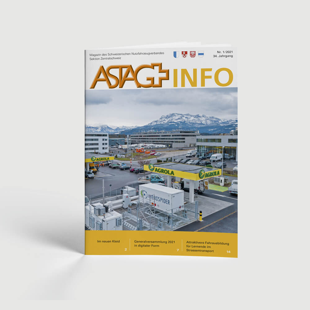 Astag Info Broschüre als Kundenreferenz von Bacher PrePress