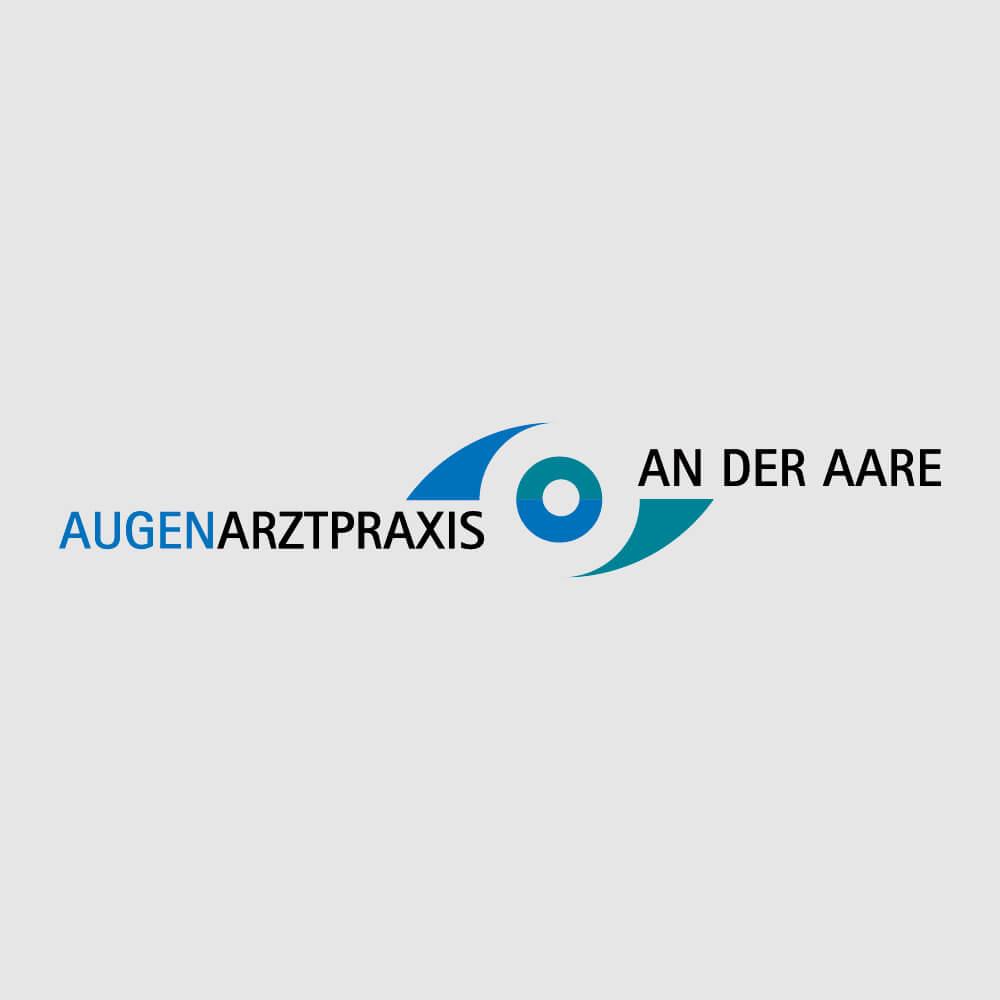 Augenpraxis an der Aaare als Kundenreferenz von Bacher PrePress