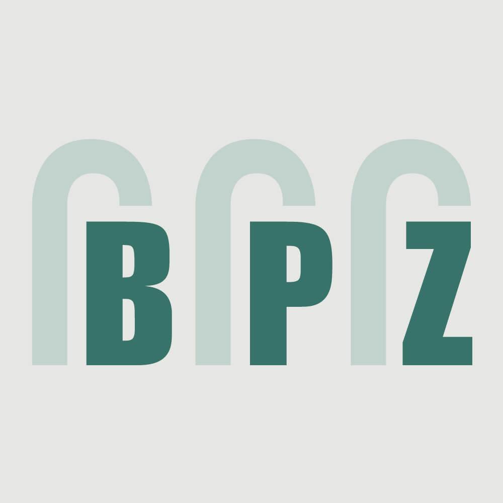 Logo BPZ Betonpumpen Zentralschweiz als Kundenreferenz von Bacher PrePress