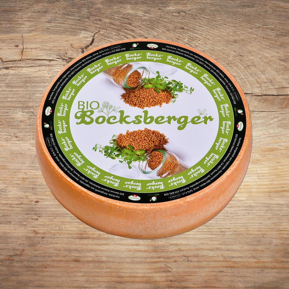 Käse Bio Bocksberger Bio Genuss Käserei Hofstetter als Kundenreferenz von Bacher PrePress