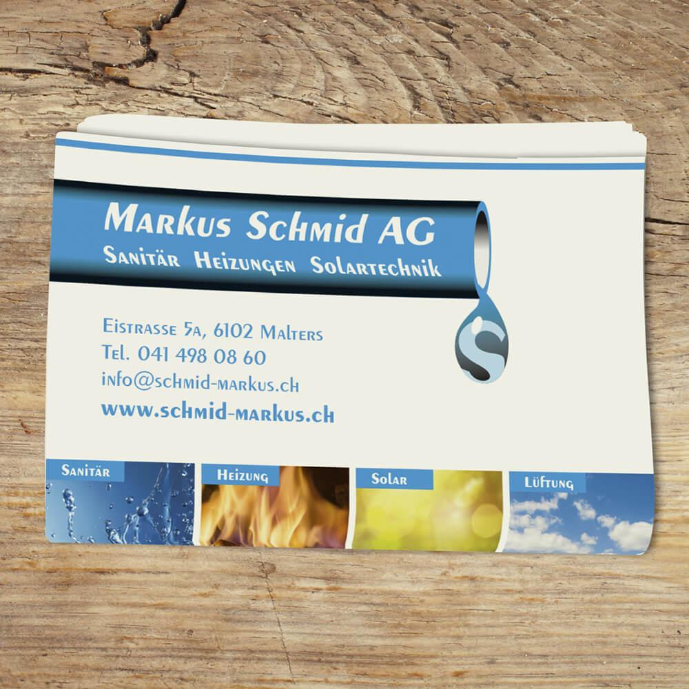 Kleber Markus Schmid Malters als Kundenreferenz von Bacher PrePress