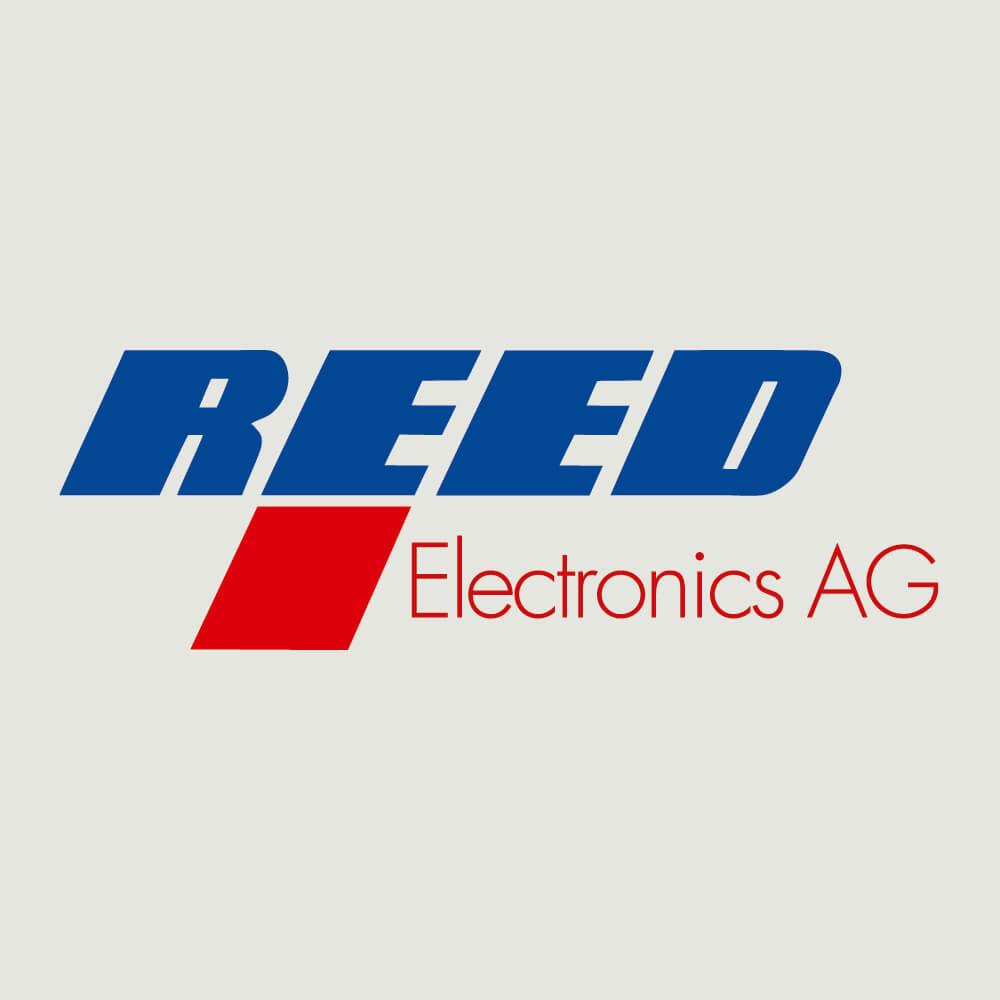 Logo Reed Electronics Schachen als Kundenreferenz von Bacher PrePress