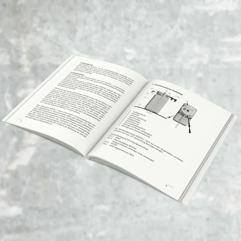 Broschüre Reed Electronics Schachen als Kundenreferenz von Bacher PrePress