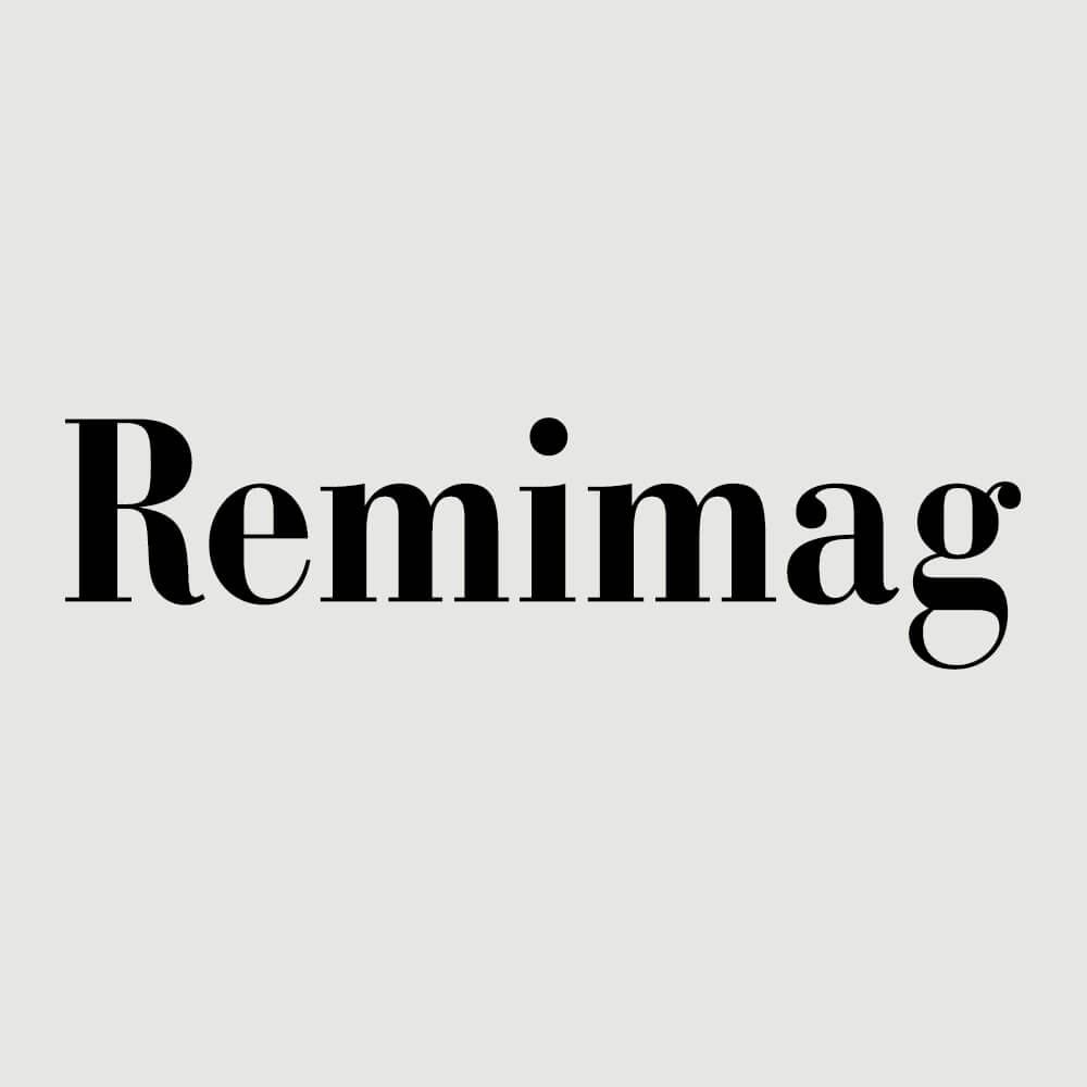 Logo Remimag Gastronomie als Kundenreferenz von Bacher PrePress