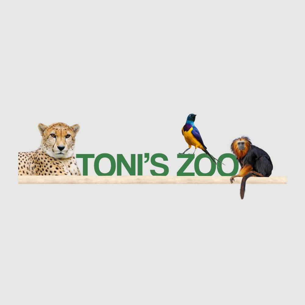 Logo Tonis Zoo Rothenburg als Kundenreferenz von Bacher PrePress