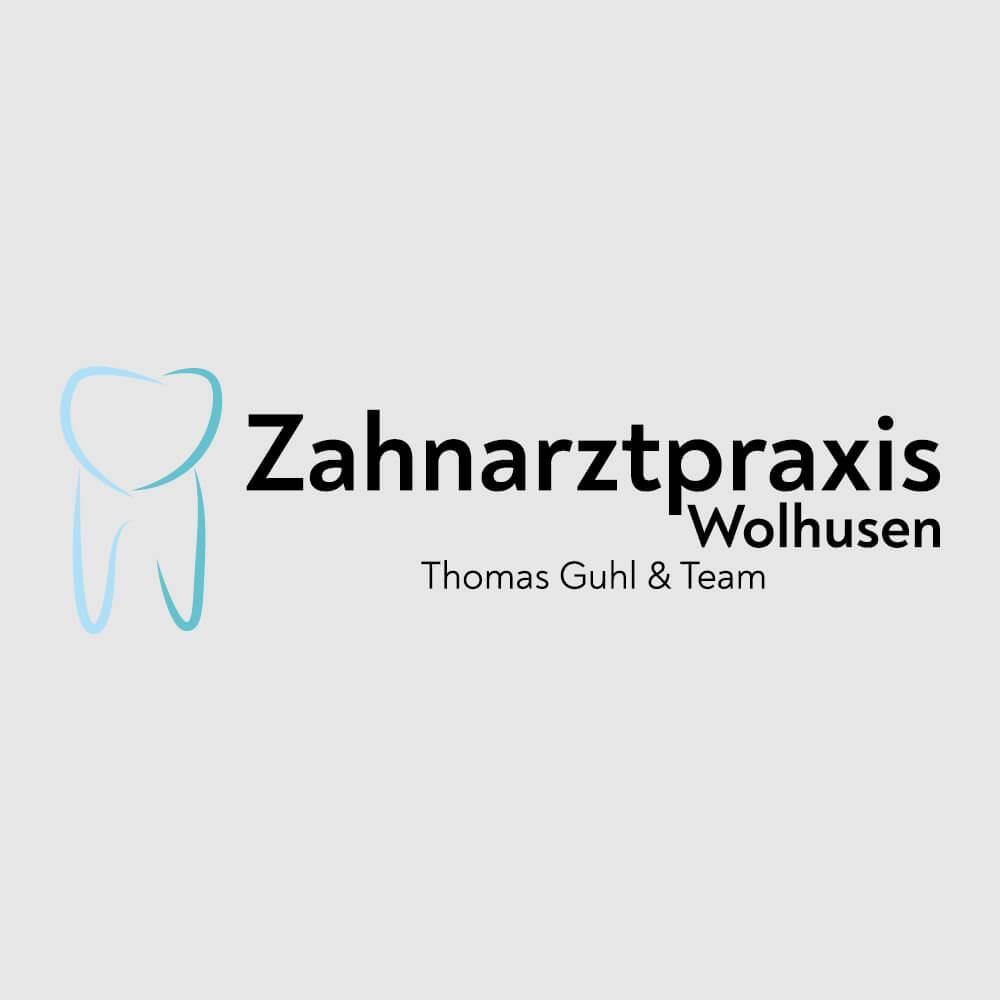 Logo Zahnarztpraxis Guhl Wolhusen als Kundenreferenz von Bacher PrePress